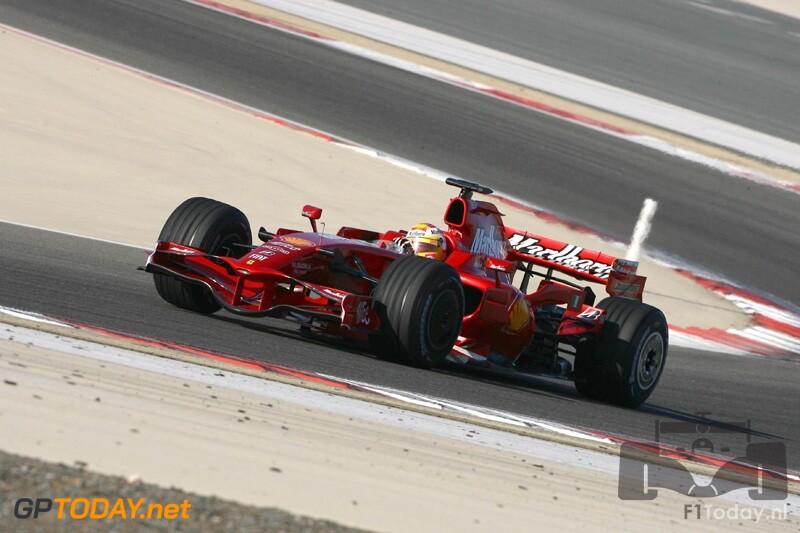 Testsessie Bahrein, 4 februari 2008
