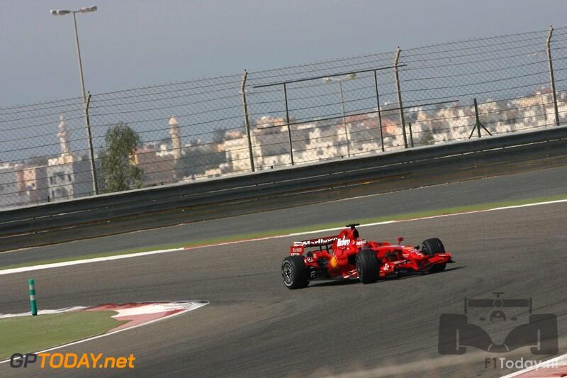Testsessie Bahrein, 9 februari 2008