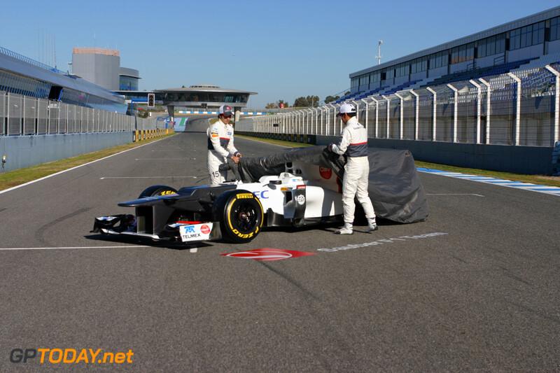 Sauber C31 - Jerez, 6 februari 2012