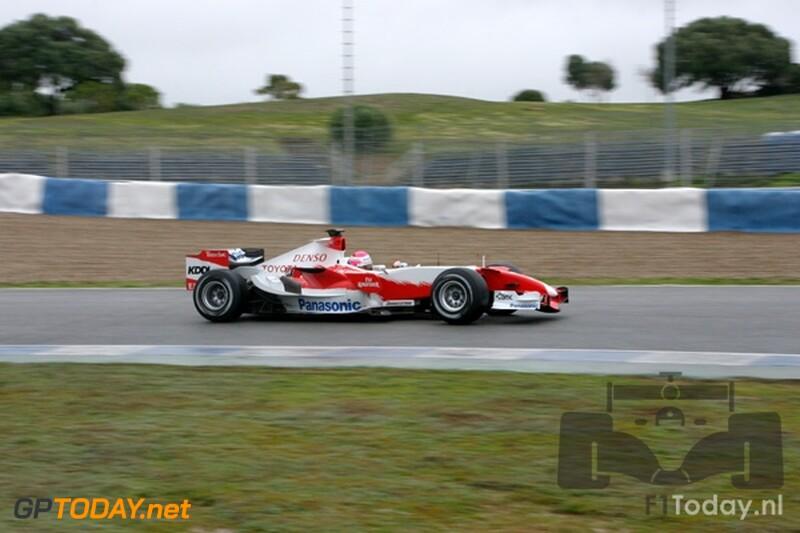 Testsessie Jerez, 8 februari 2007