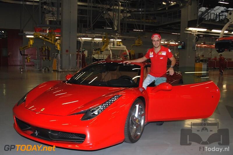 Felipe Massa keert terug in Maranello