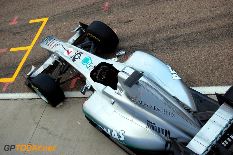 Mercedes GP W02 - Valencia, 1 februari 2011