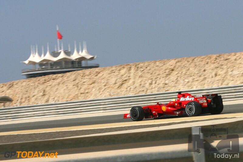 Testsessie Bahrein, 6 februari 2008