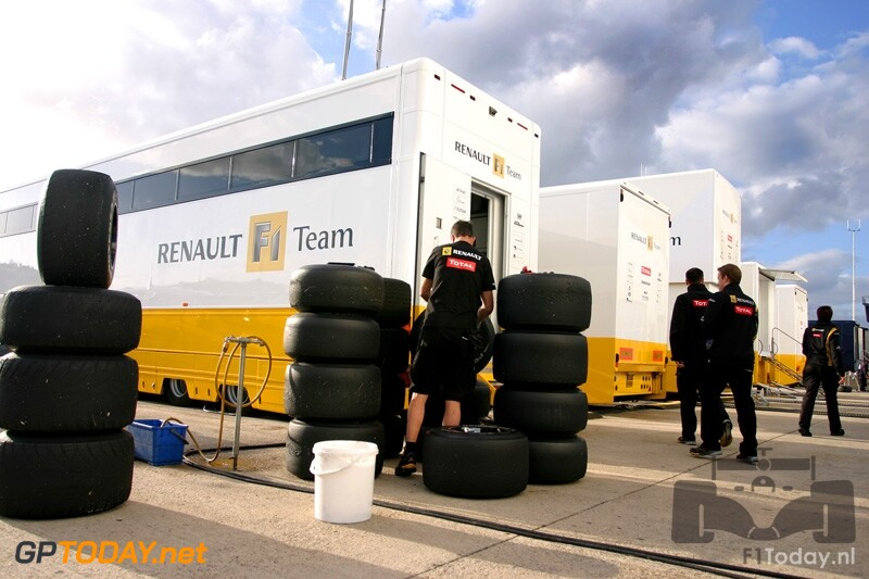 Testsessie Jerez, 17 februari 2010