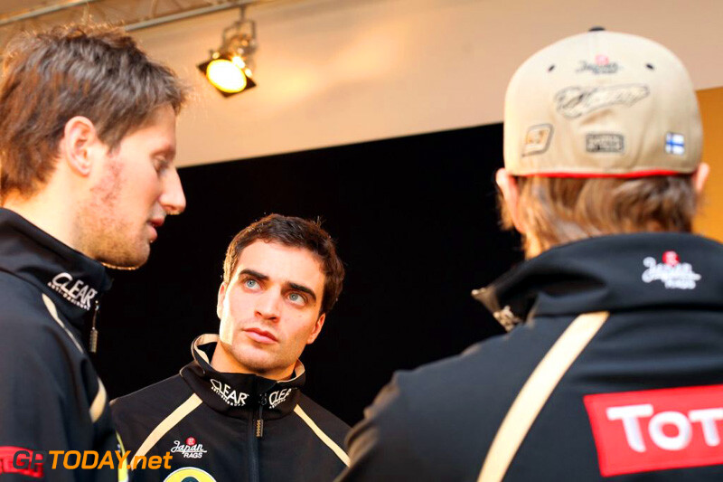 Lotus F1 Team E20 - Enstone, 5 februari 2012