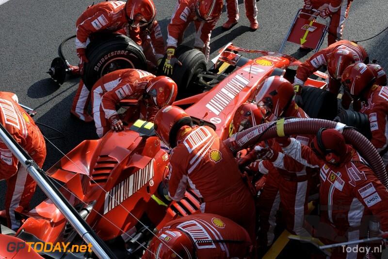 Testsessie Barcelona, 22 februari 2008
