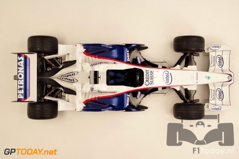 BMW F1.08, 14 januari 2008