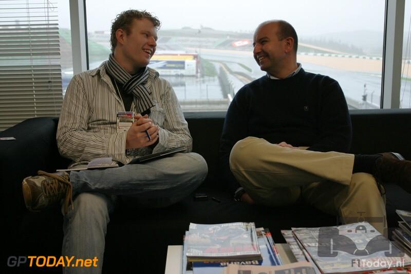 Testsessie Algarve, 22 januari 2009