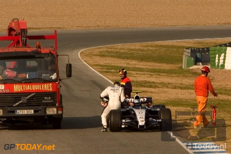 Testsessie Jerez, 6 februari 2007