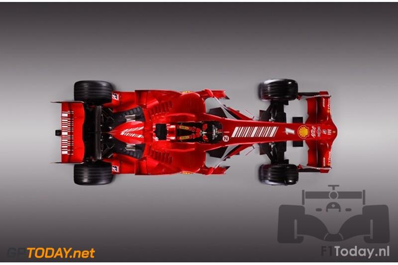 Ferrari F2008, 6 januari 2008