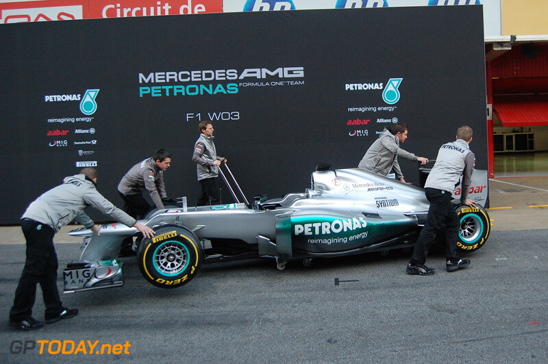 Mercedes GP W03 - Barcelona, 21 februari 2012