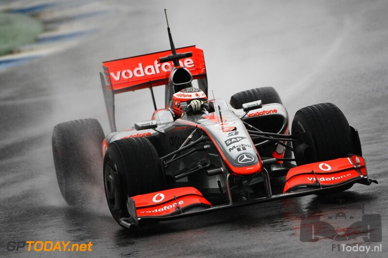 Testsessie Jerez, 2 maart 2009
