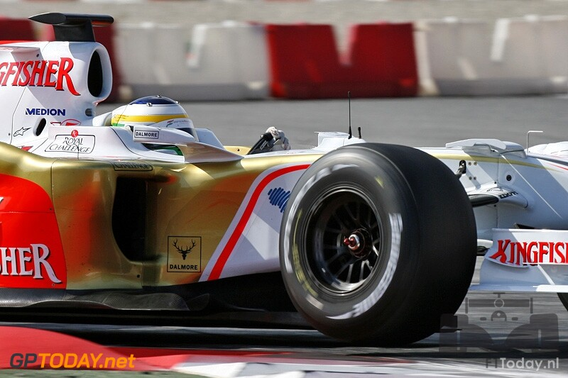 Testsessie Barcelona, 15 april 2008
