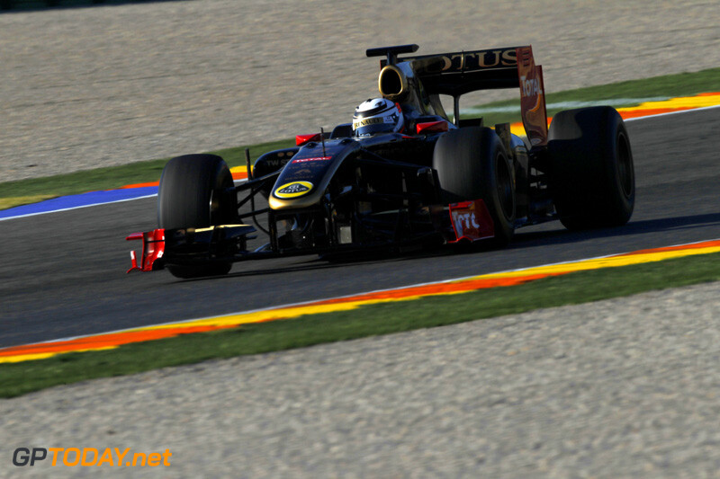 Kimi Raikkonen test met Renault R30, 23+24 januari 2012