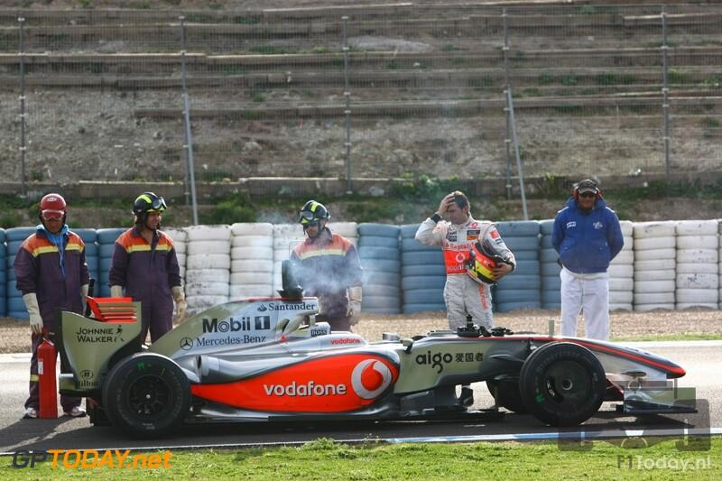 Testsessie Jerez, 1 maart 2009