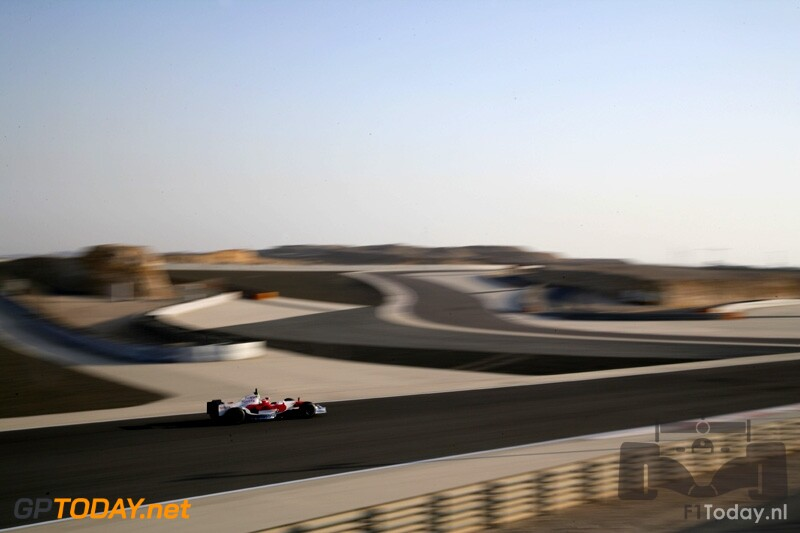 Testsessie Bahrein, 11 februari 2008