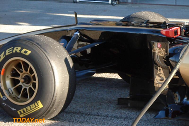 Spyshots Lotus Renault GP R31