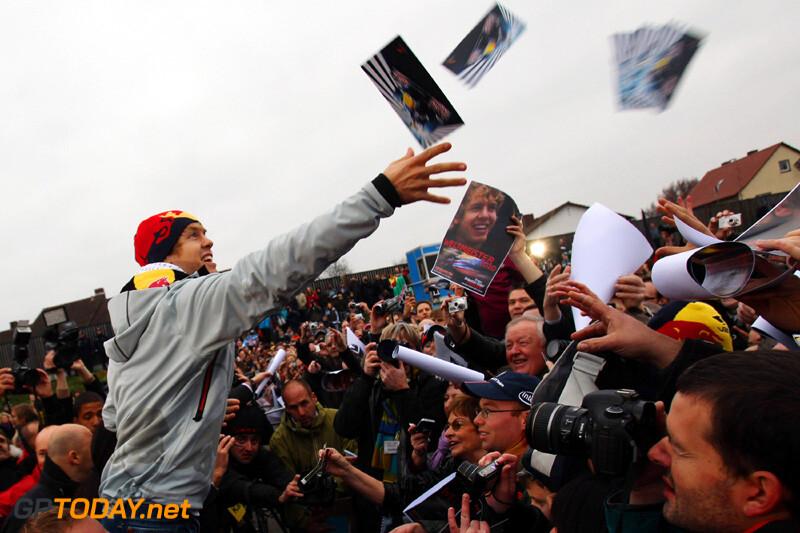 Heppenheim huldigt wereldkampioen Vettel