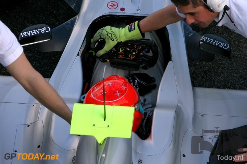 Testsessie Jerez, 11 februari 2010
