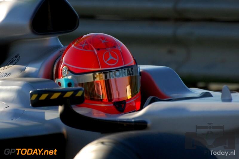 Mercedes GP W01 - Valencia, 1 februari 2010