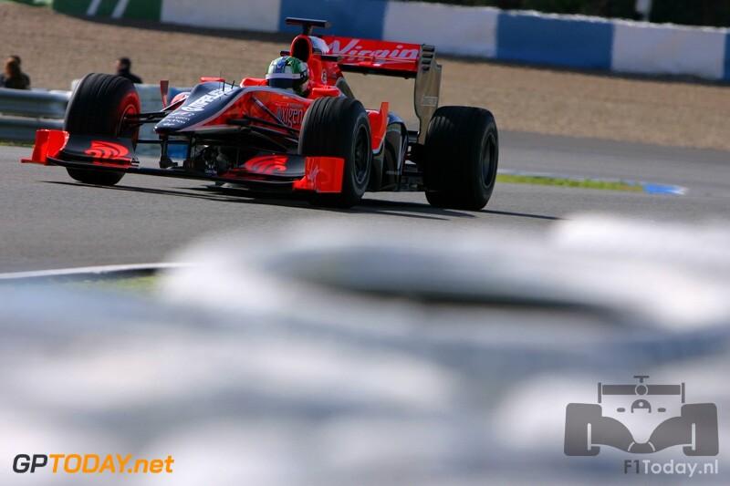 Testsessie Jerez, 19 februari 2010