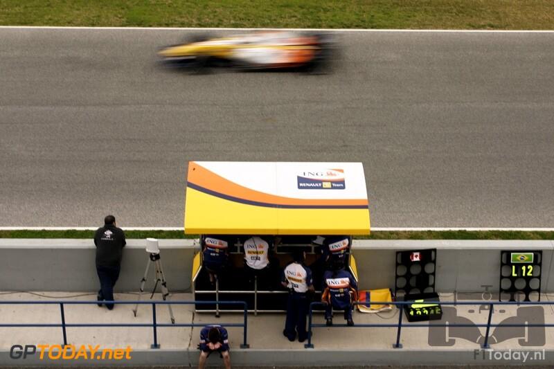 Testsessie Jerez, 14 februari 2008