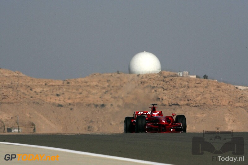Testsessie Bahrein, 10 februari 2008