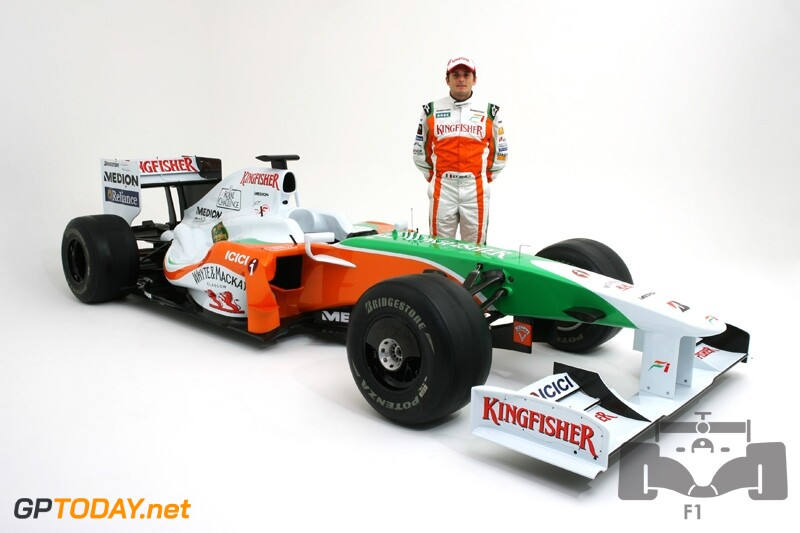 Force India F1 VJM02 Studio Shoot Silverstone, England, 24 February 2009
