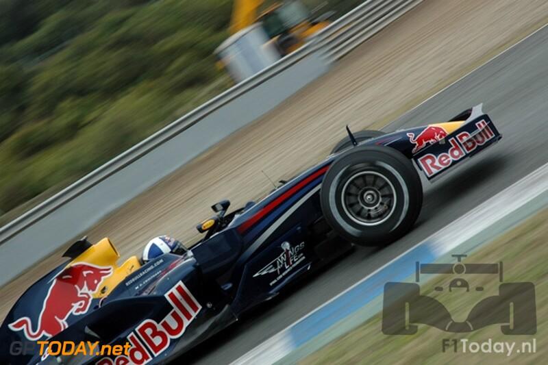 Testsessie Jerez, 16 januari 2008