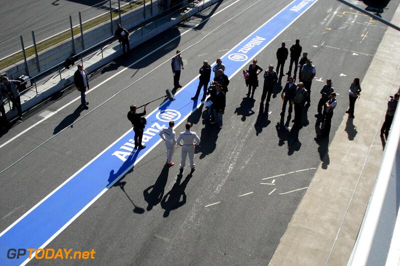 Barcelona, voorbereidingen 20 februari 2012