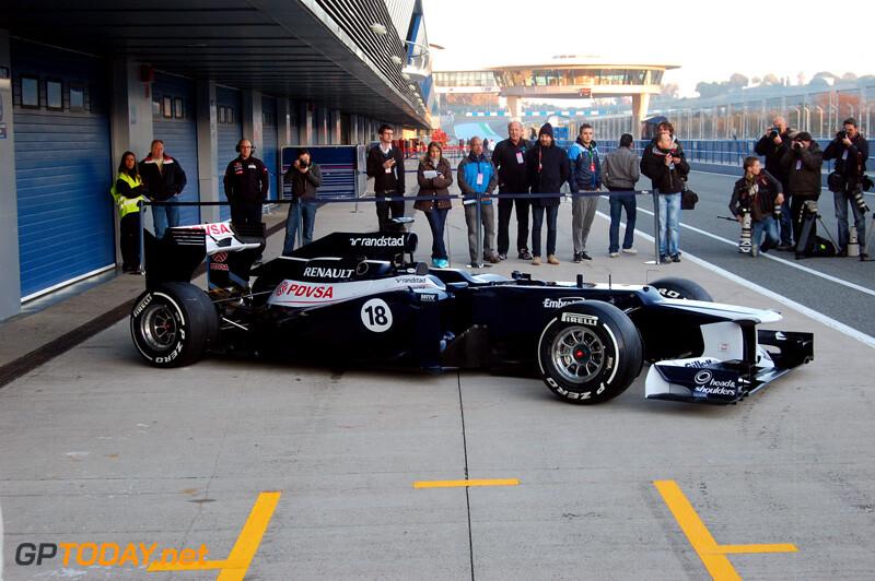 Williams FW34 - Jerez, 7 februari 2012