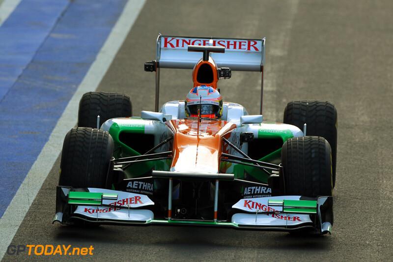 Force India VJM05 - Silverstone, 3 februari 2012