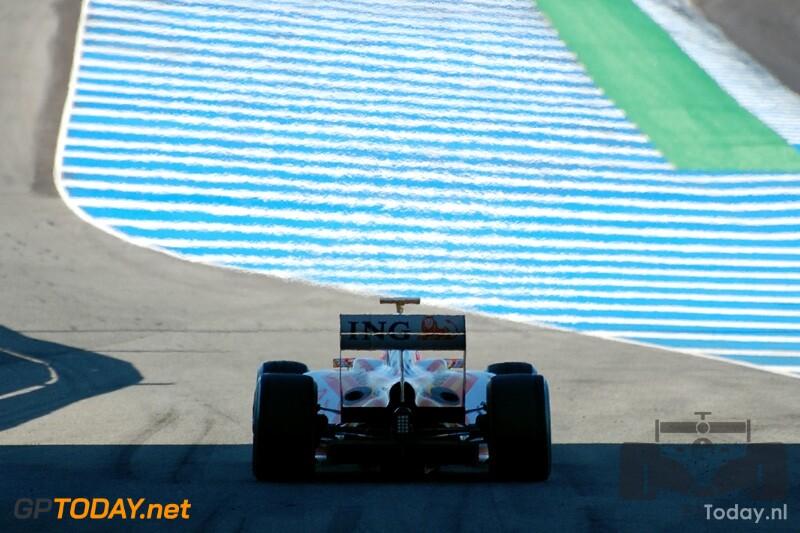 Testsessie Jerez, 11 februari 2009