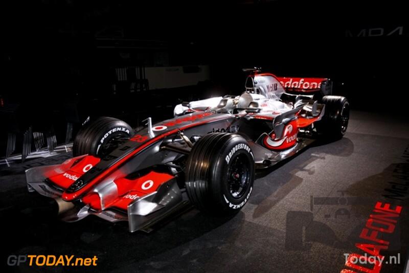 McLaren MP4-23, 7 januari 2008