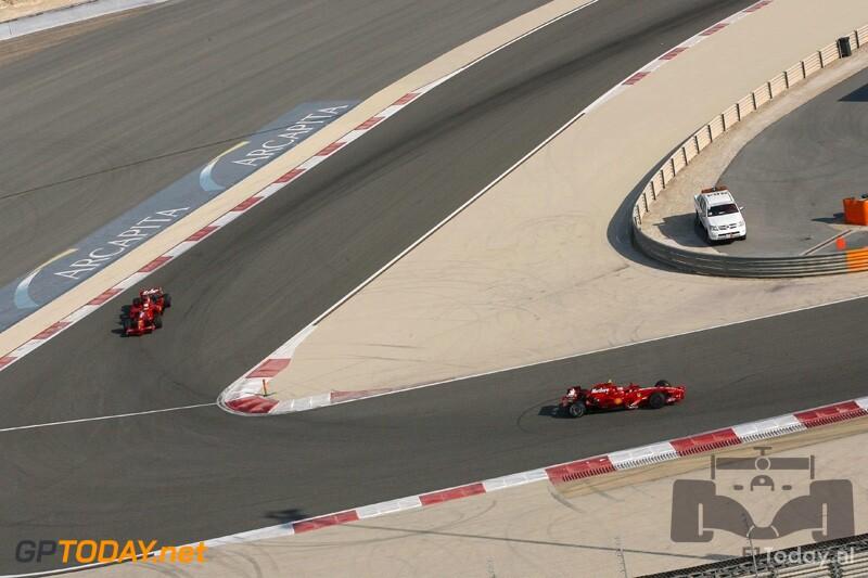 Testsessie Bahrein, 5 februari 2008