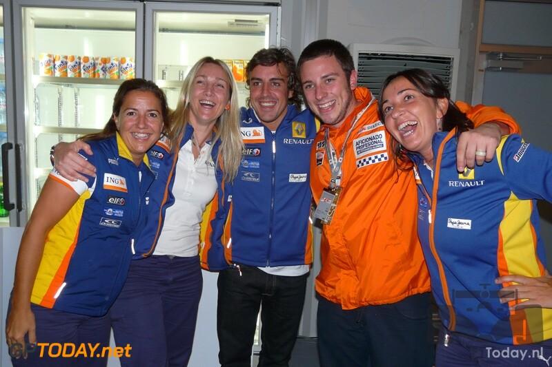 Alvaro Adema - assistent Fernando Alonso