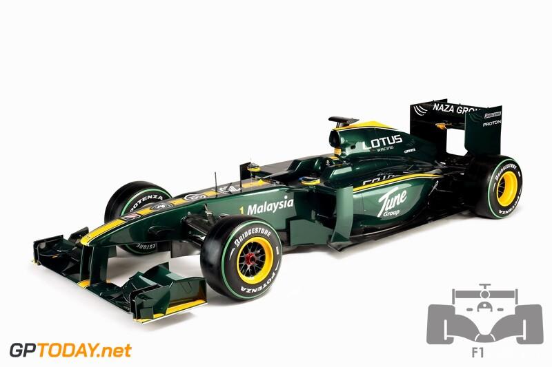 Lotus F1 Racing T127 - Londen, 12 februari 2010