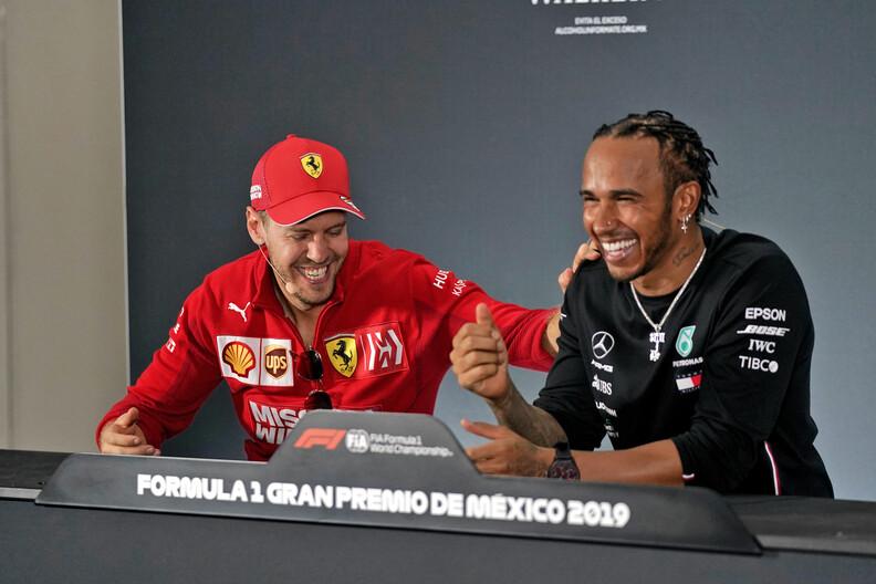 Hamilton and Vettel would make Mercedes a 'super team' - Ecclestone