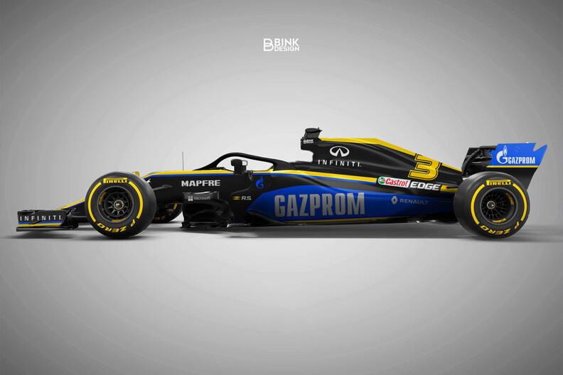 Gazprom could become primary sponsor of Renault or Alpha Tauri