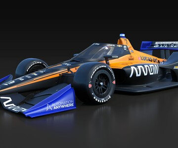 IndyCar Arrow McLaren SP Livery