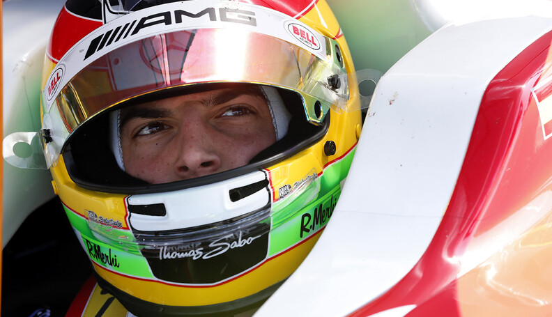 22P, Roberto Merhi (Esp), Zeta Corse (Rus), Ambiance, Portrait during the 2014  of World Series by Renault,  FR 35 race on April 13, 2014 in Monza, Italy. Photo Alexandre Guillaumot / DPPI AUTO - WSR FR 3.5 MONZA 2014 ALEXANDRE GUILLAUMOT MONZA ITALIE  Auto Car FR Formula Renault FR 3.5 MONOPLACE Motorsport Race UNIPLACE WSR WORLD SERIES BY RENAULT 2014 APRIL AVRIL