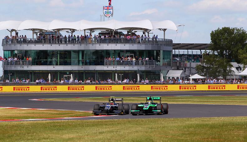 2015 GP2 Series Round 5.  Silverstone, Northam...