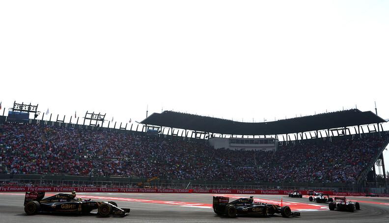 Formula One World Championship Pastor Maldonado...