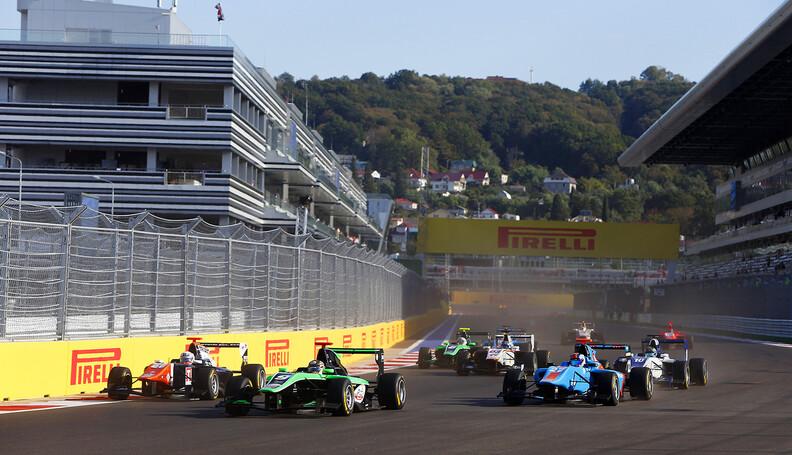 2015 GP3 Series Round 7. Sochi Autodrom, Sochi...
