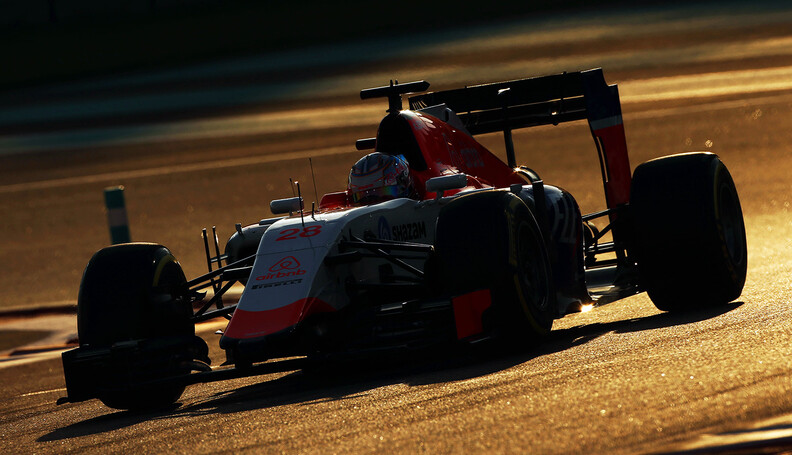 Formula One World Championship Will Stevens (GB...