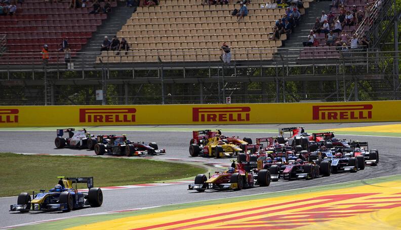 2017 FIA Formula 2 Round 2. Circuit de Catalun...