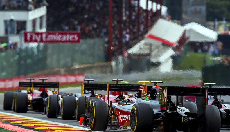 2017 FIA Formula 2 Round 8. Spa-Francorchamps,...