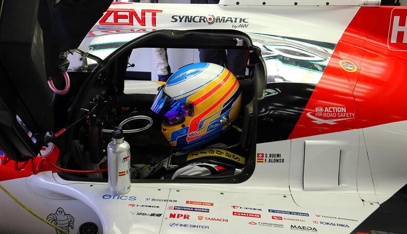 World Endurance Championship Testing  TOYOTA G...