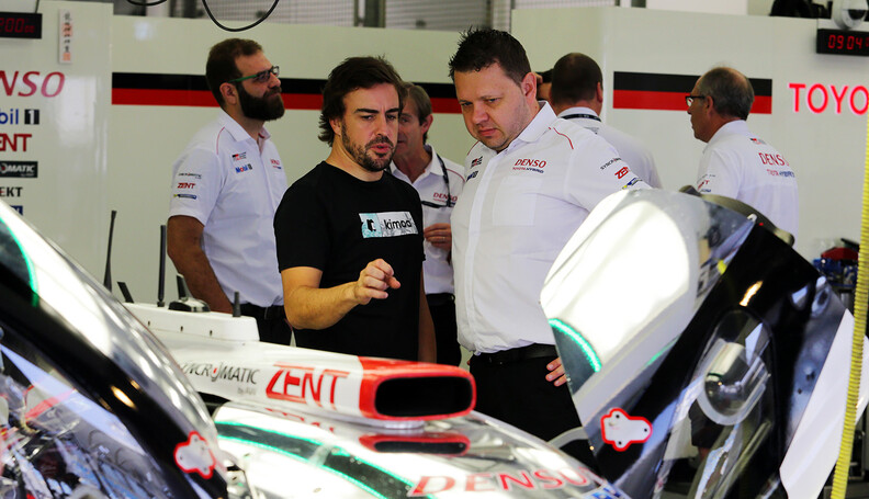 World Endurance Championship Testing Fernando A...