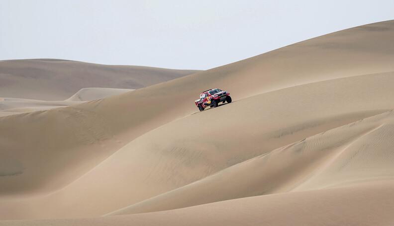 Nasser Al-Attiyah (QAT) of Toyota Gazoo Racing ...